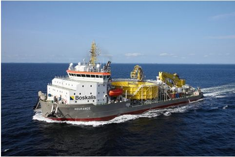 Ndurance cable ship