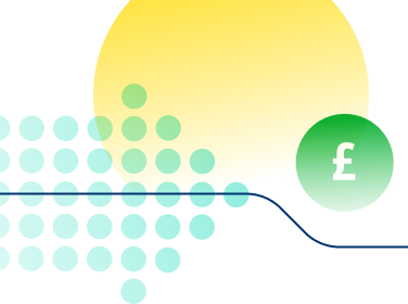 An abstract illustration which represents Jersey Electricity's price funding model. - Mobile