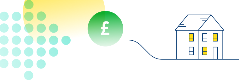 An abstract illustration which represents Jersey Electricity's price funding model. - Tablet